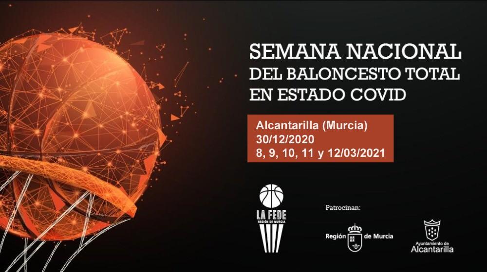 La semana nacional de baloncesto total en estado COVID